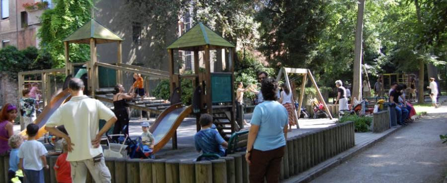 Salviamo il parco Ca' Savorgnan daldegrado.