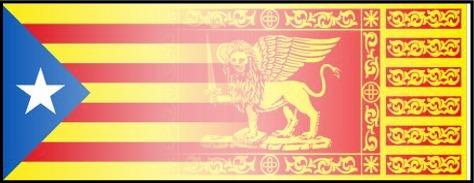 Veneto e Catalogna stessa legittima lotta per l'Indipendenza
