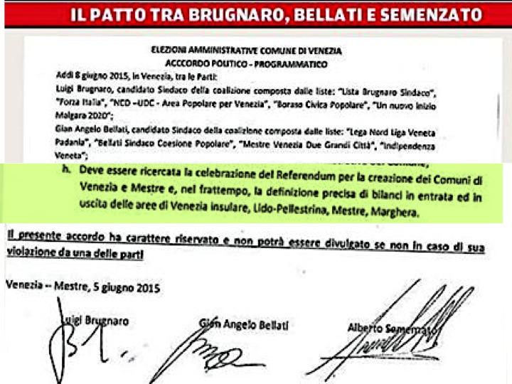 Par Don Gigio sto Referendum non se gà dafar…